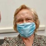 Buenos Aires: una señora de 90 años se convirtió en la persona un millón en ser vacunada en Argentina